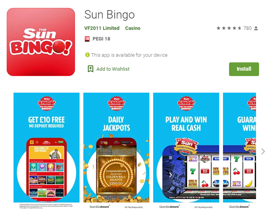 Sun Bingo Reviews