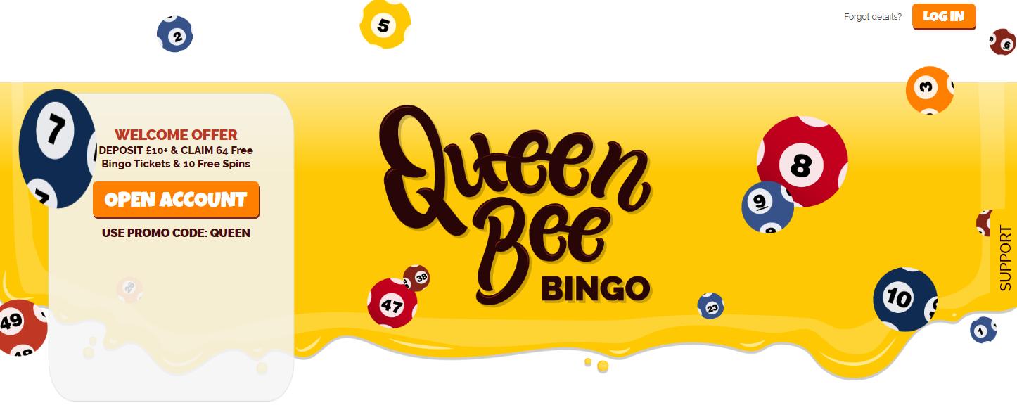 Queen Bee Bingo Website