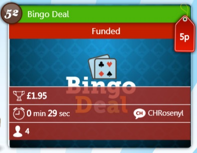 Tasy Bingo Bingo Deal