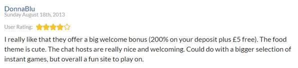 Tasty Bingo Reviews