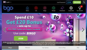 Bgo Bingo Site