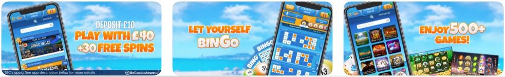 Costa Bingo Mobile App