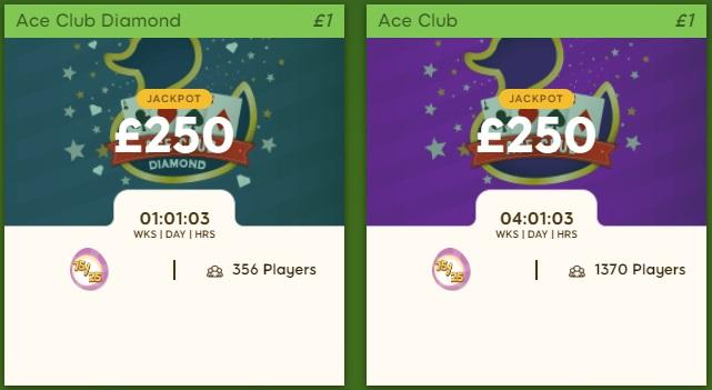 Duck Duck Bingo Ace Club Lobby
