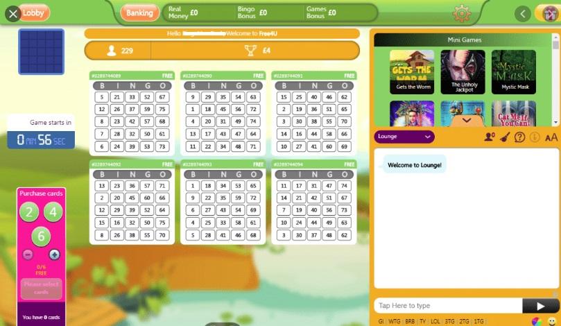 Duck Duck Bingo Game in Progress