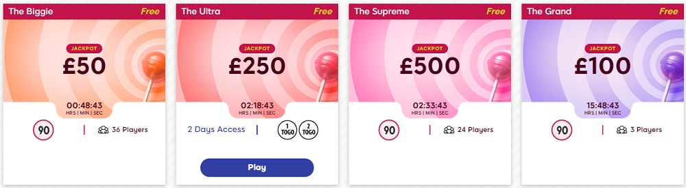 Gossip Bingo Free Bingo Lobby