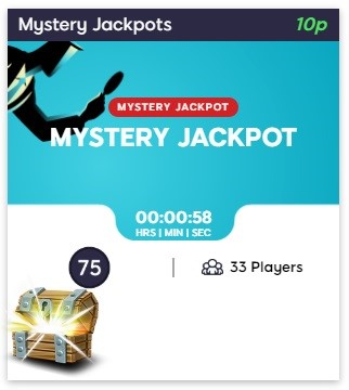 Hunky Bingo Mystery Jackpot