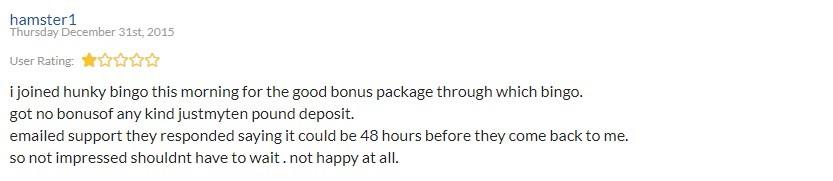 Hunky Bingo Review 2