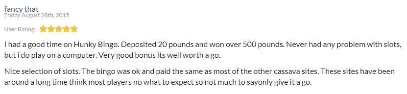 Hunky Bingo Review 4
