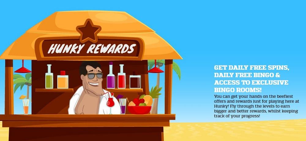 Hunky Bingo Rewards Club
