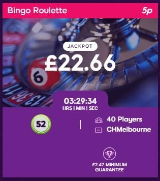 Lucky Charm Bingo Bingo Roulette