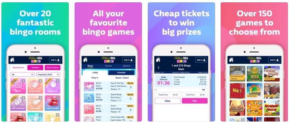 William Hill Bingo Mobile App