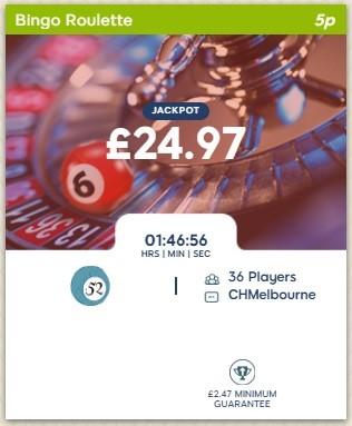 Woolly Bingo Bingo Roulette