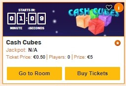 Betfair Bingo Cash Cubes