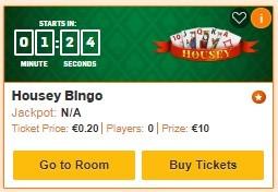 Betfair Bingo Housey Bingo