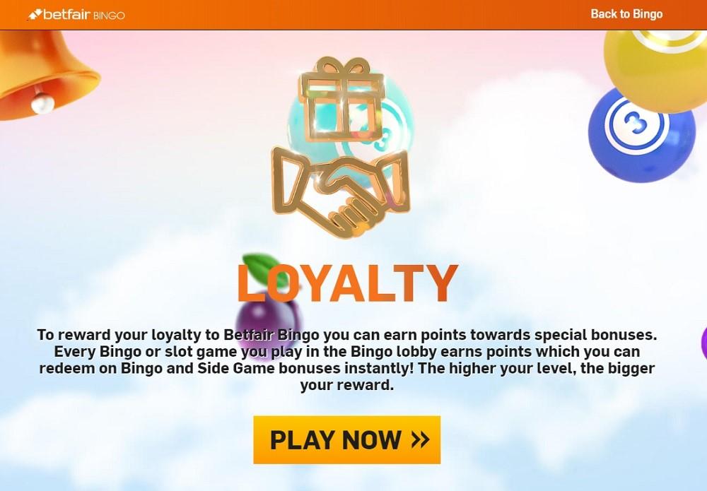 Betfair Bingo Loyalty Program