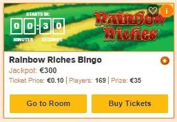 Betfair Bingo Rainbow Riches Bingo