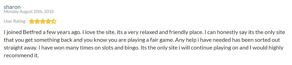 Betfred Bingo Player Review 3