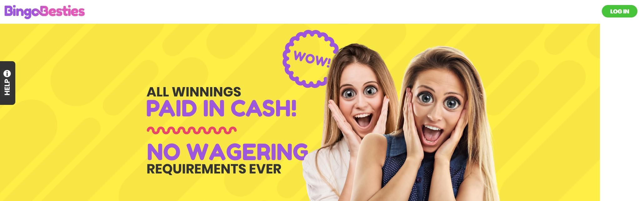 Bingo Besties Website