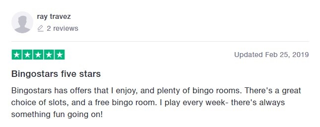 Bingo Stars Player Review 7