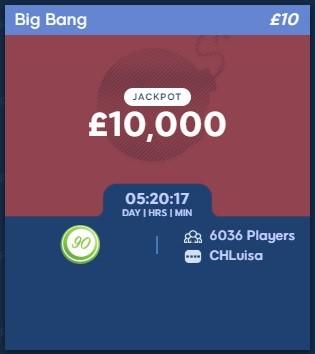 Bingo Storm Big Bang