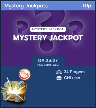 Bingo Storm Mystery Jackpots