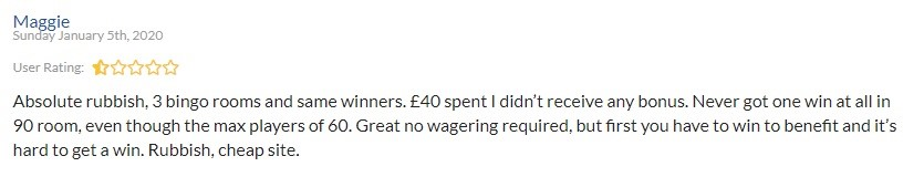 Bounce Bingo Player Review 2