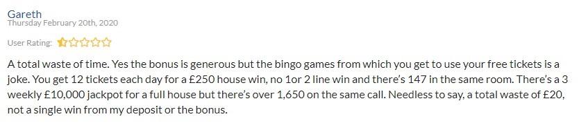 Bounce Bingo Player Review