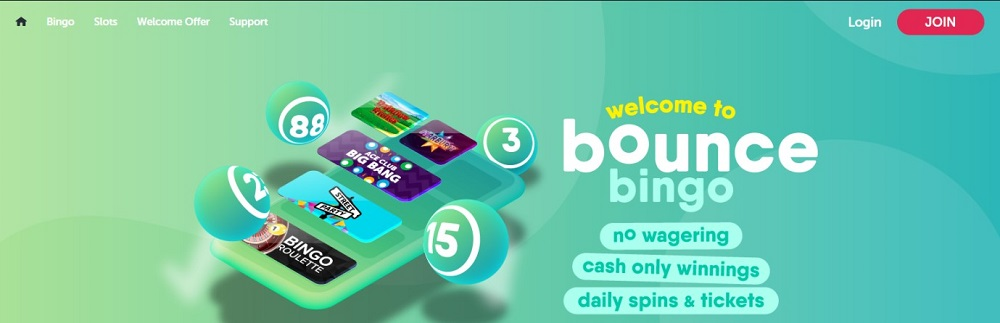 Bounce Bingo Website