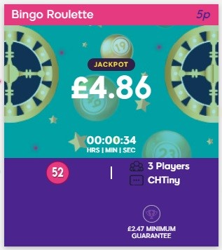 Bucky Bingo Bingo Roulette