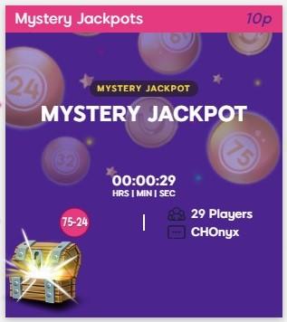 Bucky Bingo Mystery Jackpot