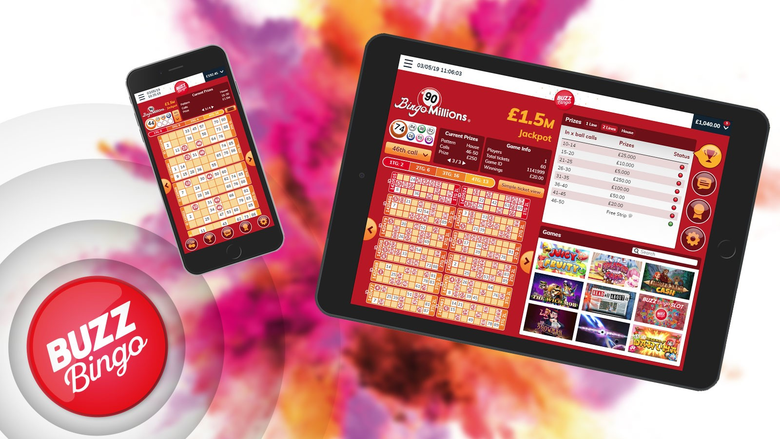 Buzz Bingo Mobile App
