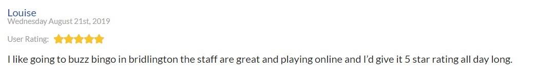 Buzz Bingo Player Review 2