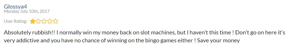 Chat Mag Bingo Player Review 2