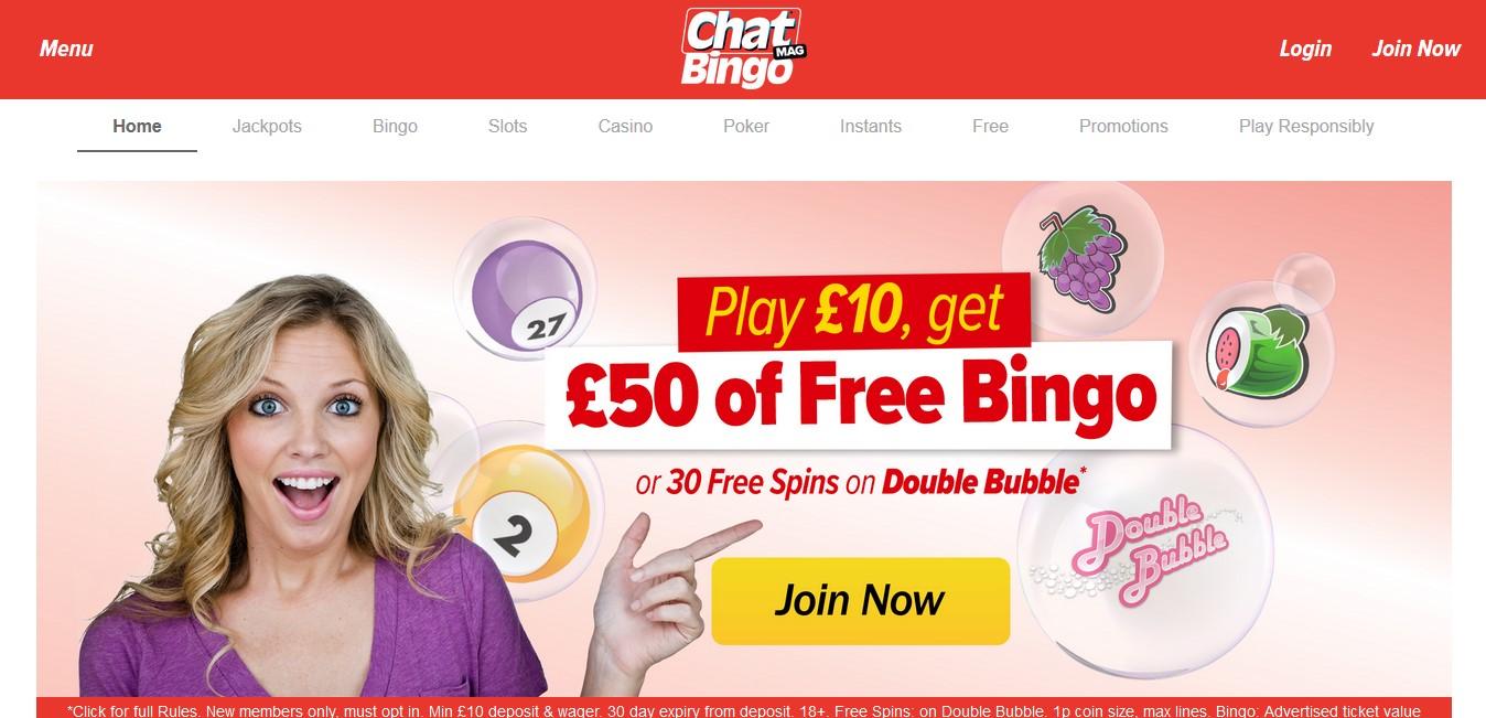 Chat Mag Bingo Website