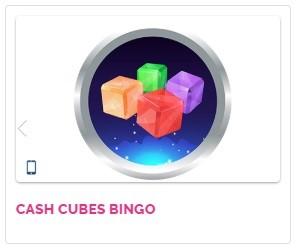 Fabulous Bingo Cash Cubes Bingo