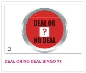Fabulous Bingo Deal or No Deal Bingo