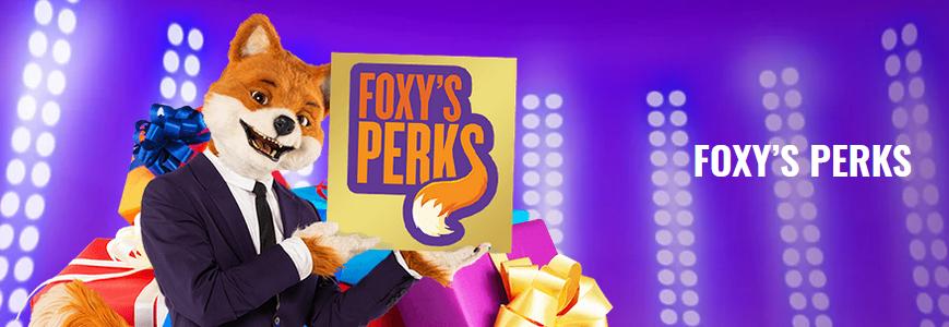 Foxy Bingo Foxys Perks