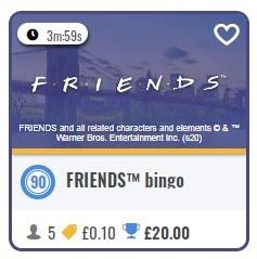 Foxy Bingo Friends Bingo