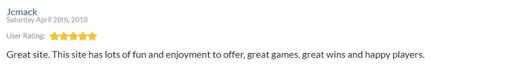 Gala Bingo Player Review 3