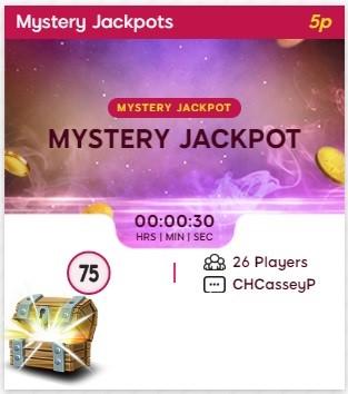 Glitter Bingo Mystery Jackpot