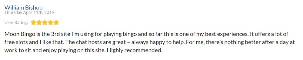 Moon Bingo Player Review 5
