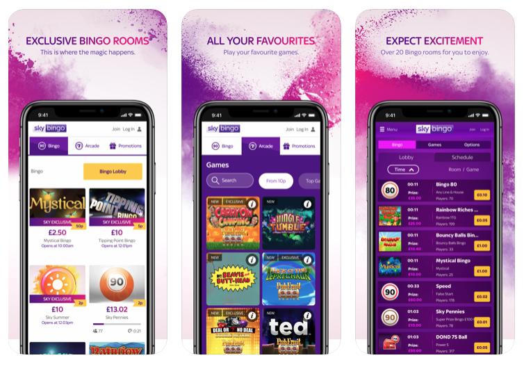 Sky Bingo Mobile App