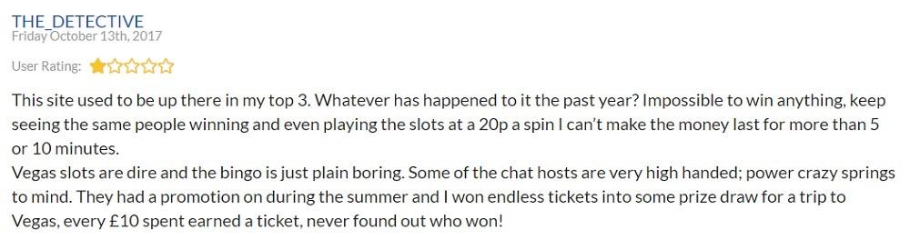 Sky Bingo Player Review 2