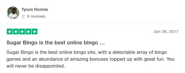 Sugar Bingo Player Review 5