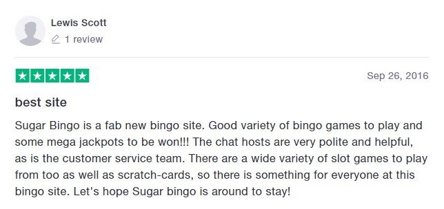 Sugar Bingo Player Review 6