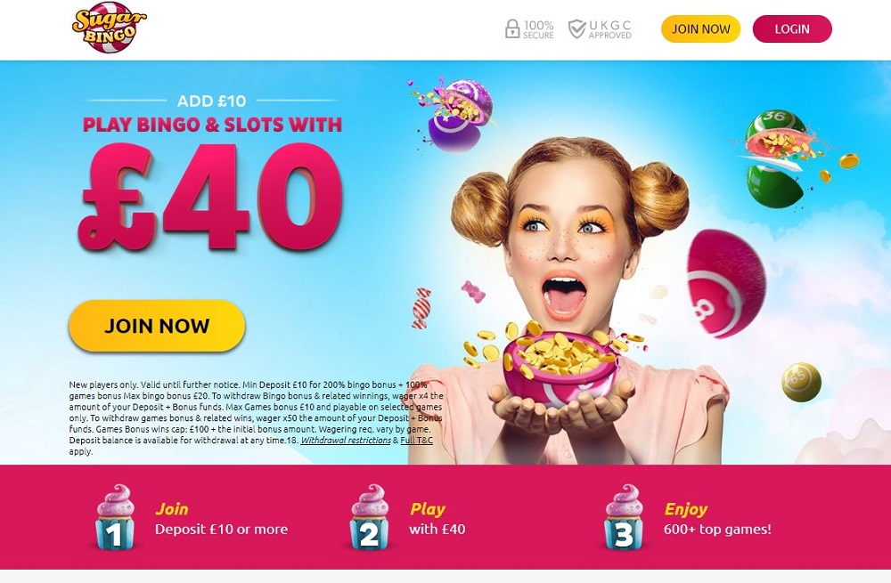 Sugar Bingo Website