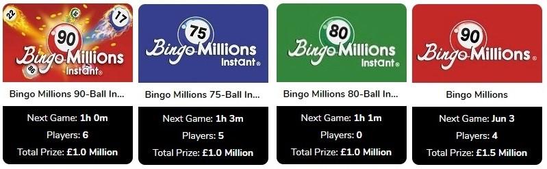 Umbingo Bingo Millions