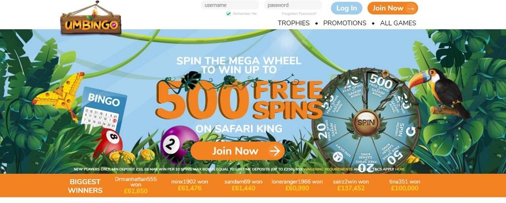 Umbingo Website