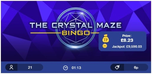 Woman Bingo The Crystal Maze Bingo
