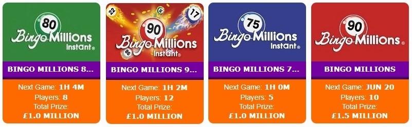 Anytime Bingo Bingo Millions